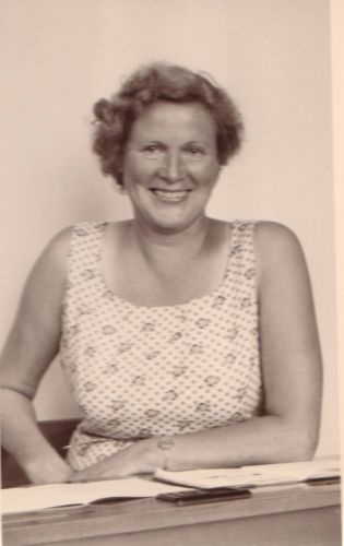 Jansje Gorter, Robert's mother when she was around 50 years old.