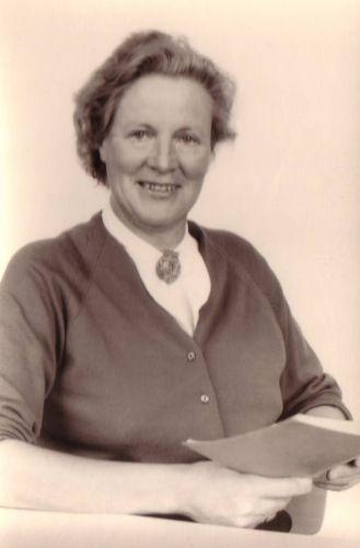 Jansje Gorter, Robert's mother when she was around 50 years old.