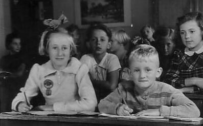 Robert Gorter's Early childhood