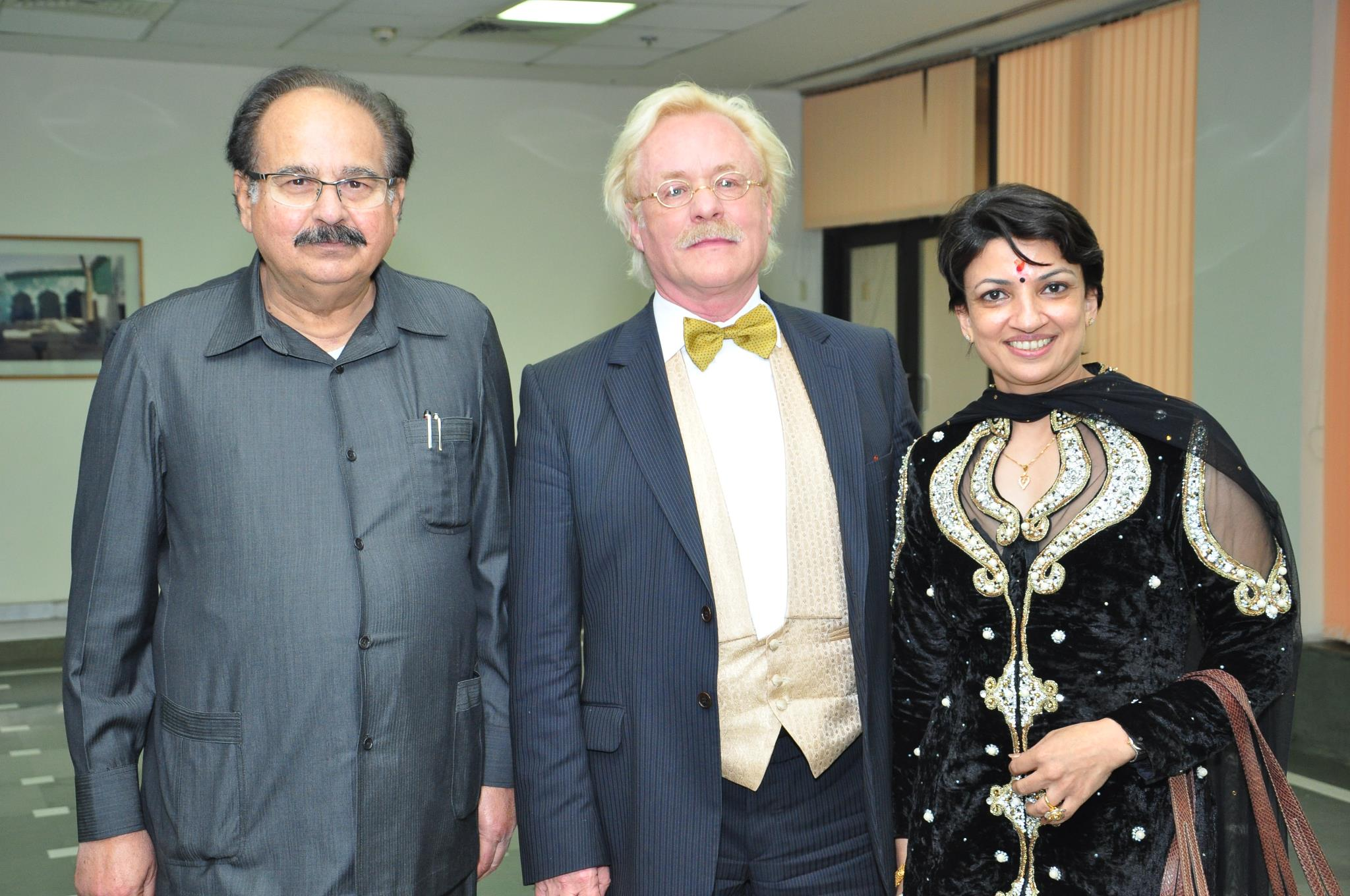 Robert Gorter visits New Delhi