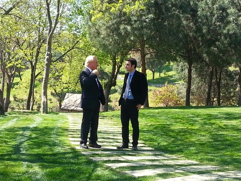 Robert Gorter interviewed by NTV in Istanbul