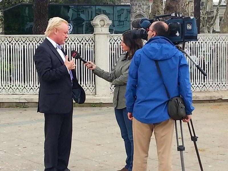 Robert Gorter in Istanbul - CNN Interview