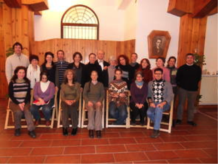 Robert Gorter lectures at Scuola di Luca