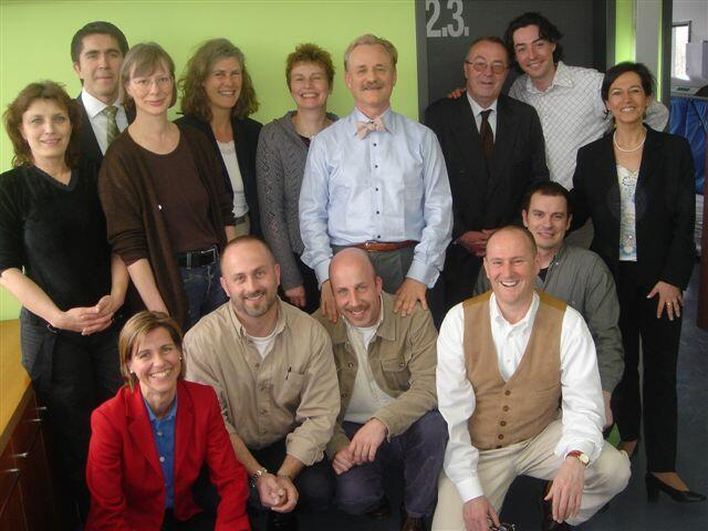 Initial group of Anthroposophists and friends who founded the University for Anthroposophic Studies (2004)