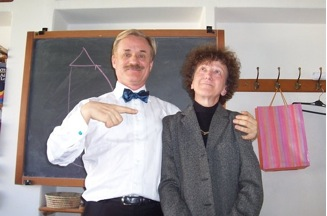 Robert Gorter and Cata Caccini