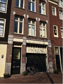 Current location at Spuistraat 96 where HUK was situated for over three years (ca. 1973-1976/77)