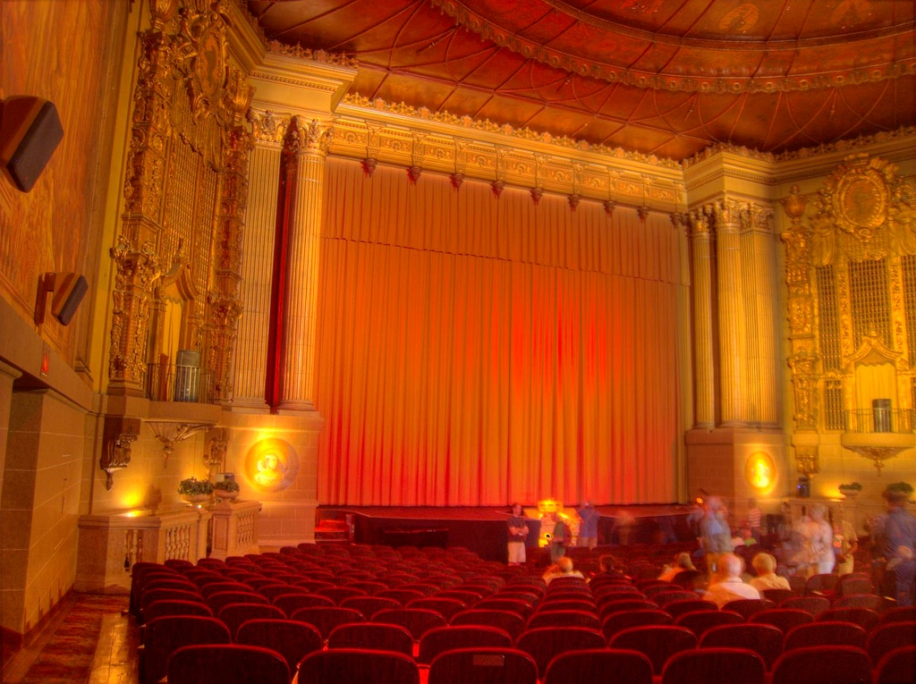 Inside Castro Cinema at 429 Castro St, San Francisco, CA 94114, United States (2010)