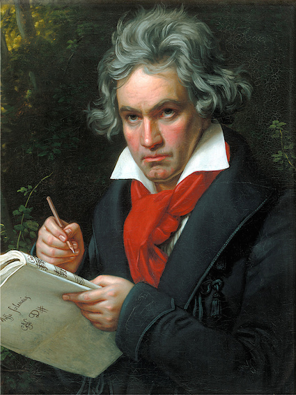 Ludwig van Beethoven (1770-1827) was the son of Dutch immigrants and born in Bonn, Germany.